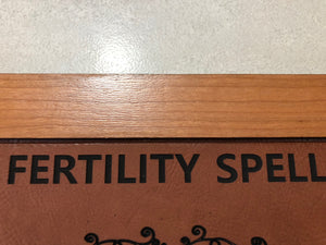 Fertility Spell Wall Hanging - Little Gems Metaphysical Store