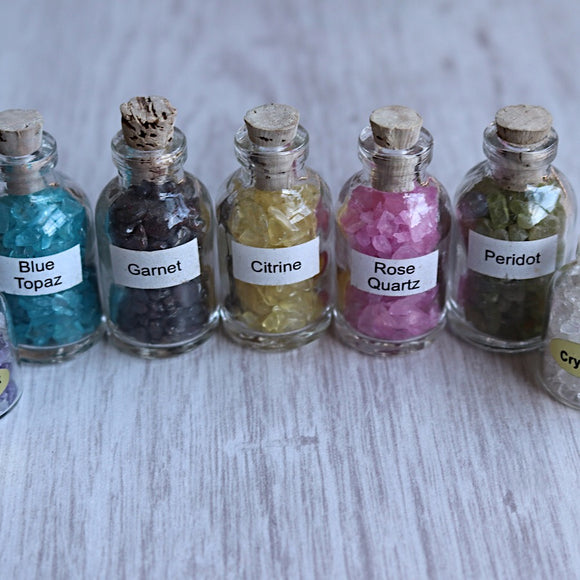 Gemstone Altar Bottles - little-gems-metaphysical-store