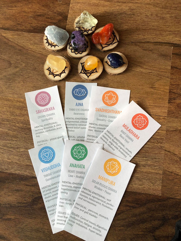 Chakra Balancing Kit - Little Gems Metaphysical Store