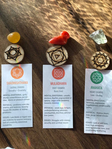 How to know if you have chakra imbalances kit - Little Gems Metaphysical Store
