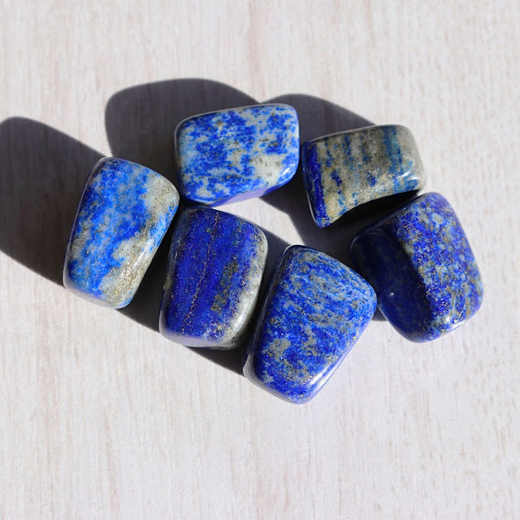 Lapis Lazuli Tumbled Stones - little-gems-metaphysical-store