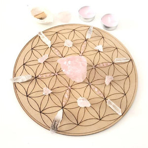 Bring the Love Back Heart Chakra grid set + free gift - little-gems-metaphysical-store