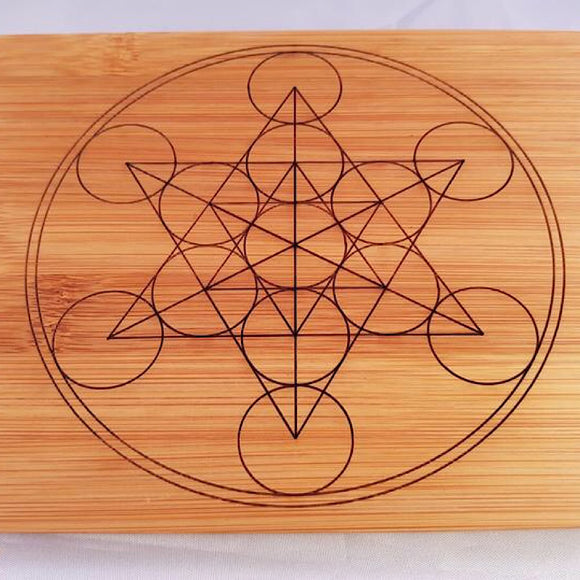 Double Sided Crystal Grid - Little Gems Metaphysical Store