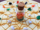 Agate Swirl Sacred Geometry Mini Grid - little-gems-metaphysical-store