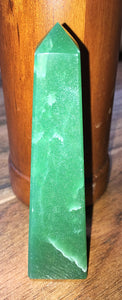 Green Aventurine Obelisk - little-gems-metaphysical-store