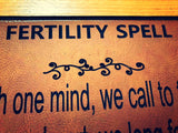 Fertility Spell Wall Hanging - little-gems-metaphysical-store