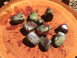 Dragons Blood Jasper Tumbled - little-gems-metaphysical-store