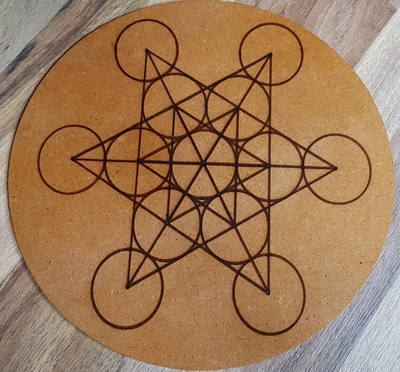 Crystal Grid Bases - 3mm MDF - Little Gems Metaphysical Store