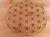 Double Sided Crystal Grid - little-gems-metaphysical-store