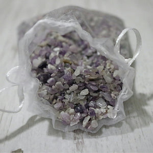 Amethyst Chip Bags - Little Gems Metaphysical Store