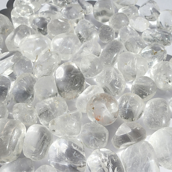 AAA Quartz Crystal Tumbled Stones - Little Gems Metaphysical Store