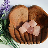 AAA Grade Rose Quartz Crystal Tumbled Stones - little-gems-metaphysical-store