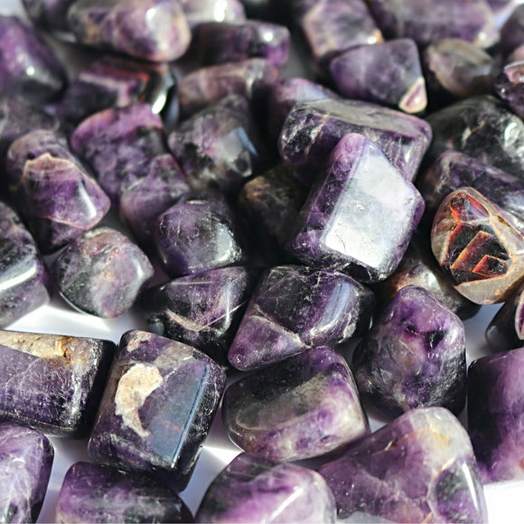 AAA Grade Dream Amethyst Crystal Tumbled Stones - little-gems-metaphysical-store