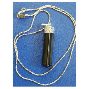 Black Tourmaline Pendant - little-gems-metaphysical-store