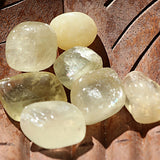 Yellow Calcite Tumbled Stones - Little Gems Metaphysical Store