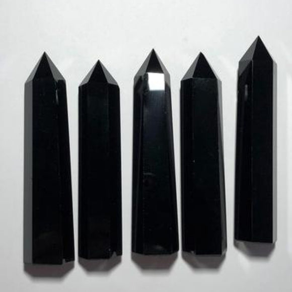 Black Obsidian Generators - little-gems-metaphysical-store