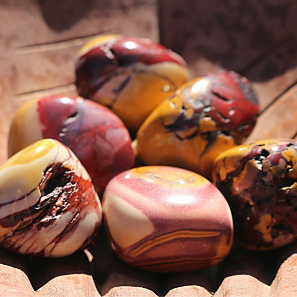 Mookaite Tumbled Stones - Little Gems Metaphysical Store