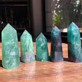 Green Fluorite Generators - Little Gems Metaphysical Store