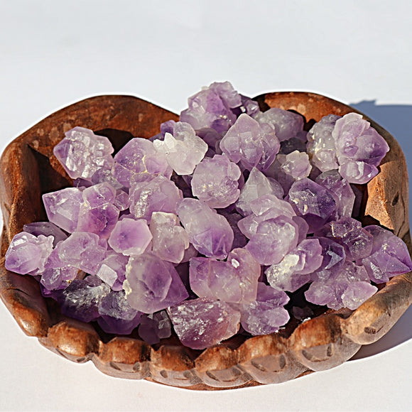 Popcorn Amethyst Clusters - 5 Pack - little-gems-metaphysical-store