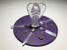 Load image into Gallery viewer, Enlightenment Crystal Grid Kit + Gift - Little Gems Metaphysical Store