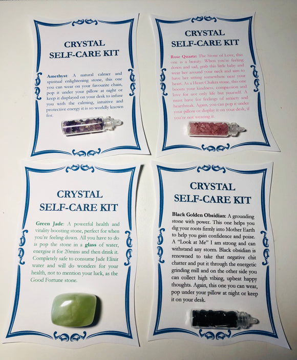 Crystal Self Care Pack - Little Gems Metaphysical Store