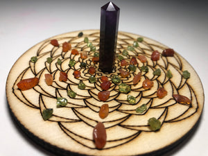 Procrastination Killer Crystal Grid + freebies - Little Gems Metaphysical Store