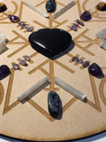 Protection & Security Crystal Grid + Gift - Root Chakra - Little Gems Metaphysical Store