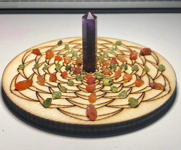 Procrastination Killer Crystal Grid + freebies - little-gems-metaphysical-store