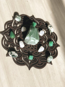 Planing & Manifesting Spring Equinox Crystal Grid Set - Little Gems Metaphysical Store