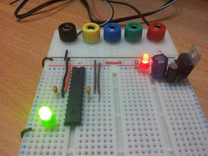 Powering up the Microcontroller