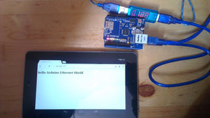 Webserver with Arduino