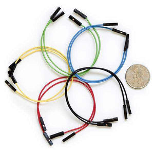 Jumper Wires Premium 6 F/f Pack Of 10 Prototyping For Your Hobbies