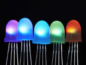 Neopixel Diffused 8Mm Through-Hole Led - 5 Pack Components Promotion