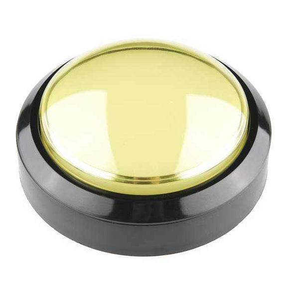Big Dome Pushbutton - Yellow Prototyping For Your Hobbies