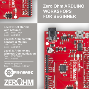 Zero Ohm Arduino Workshops Bundle (Level 1 2 And 3) Training Center