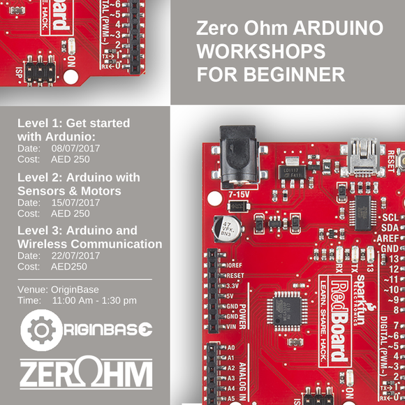 Level 2: Arduino With Sensors And Motors Zero Ohm Training Center