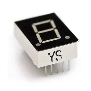 7-Segment Display - Led (Red) Components