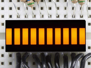 10 Segment Light Bar Graph Led Display - Yellow Components Promotion