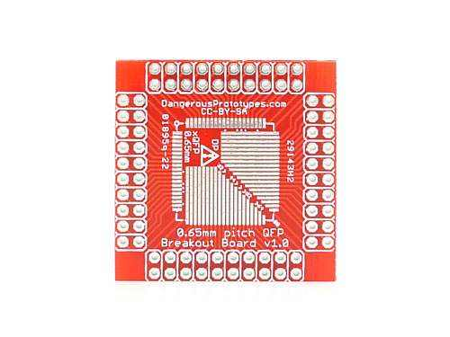 Xqfp Breakout Board - 0.65Mm Prototyping Promotion