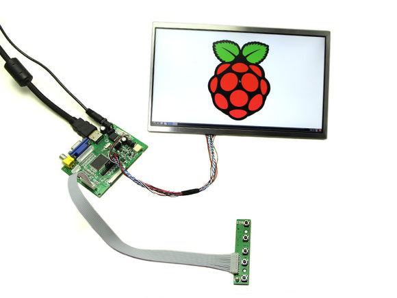 10.1Lcd Display - 1366X768 Hdmi/vga/ntsc/pal