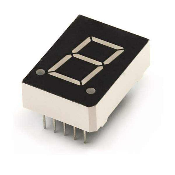 7-Segment Display - Led (Blue) Components