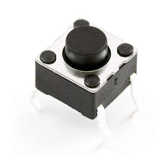 Momentary Mini Push Button Switch - 6Mm Square Prototyping