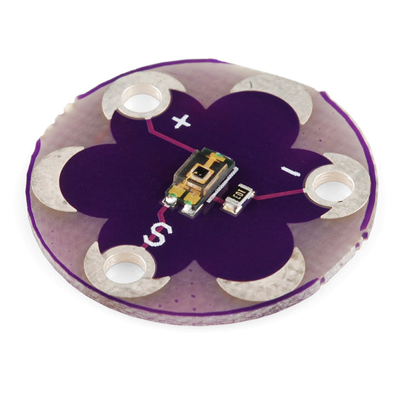 Lilypad Light Sensor Arduino Wearables
