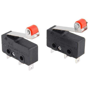 Mini Microswitch - Spdt (Roller Lever 2-Pack) Prototyping