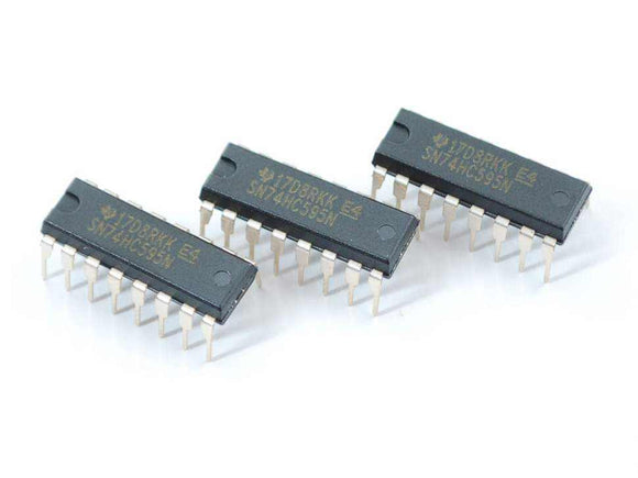 74Hc595 Shift Register - 3 Pack Components