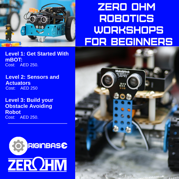 Robotics: Build Your Obstacle Avoiding Robot Zero Ohm Training Center