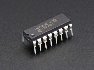 Mcp3008 - 8-Channel 10-Bit Adc With Spi Interface Components