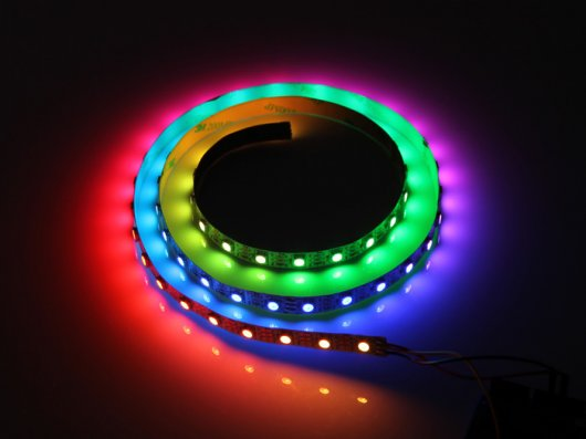 Digital Rgb Led Flexi-Strip 60 - 1 Meter Components