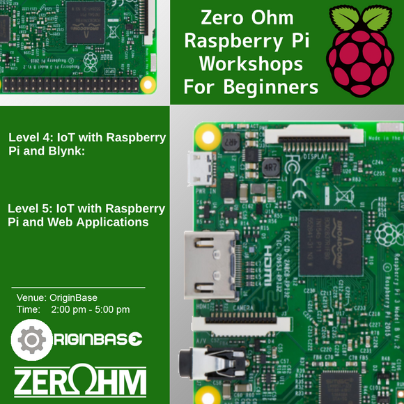 Level 4: Iot With Raspberry Pi And Blynk Zero Ohm Training Center