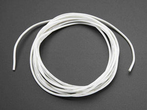 Silicone Cover Stranded-Core Wire - 2M 26Awg White Prototyping Promotion